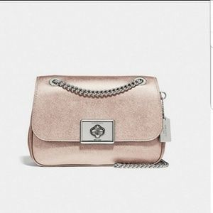 Coach Cassidy Crossbody Bag F38073 Platnum NWT